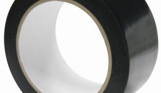 BLACK PROTECTION TAPE FOR WINDOW FRAMES & POWDER COATED ALUMINUM FLAME