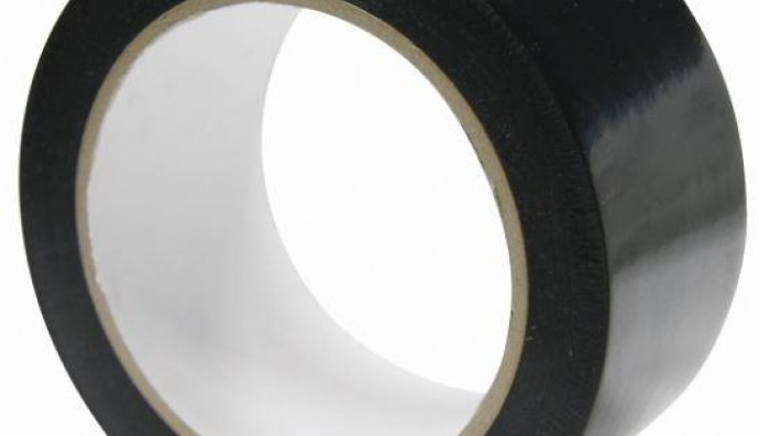 QUEENSLAND PVC BLACK PROTECTION TAPE