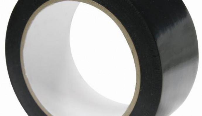 TASMANIA PVC BLACK PROTECTION TAPE